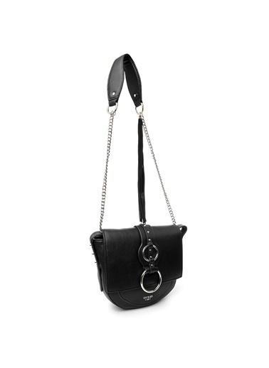 Guess Messenger / Askılı Çanta Siyah